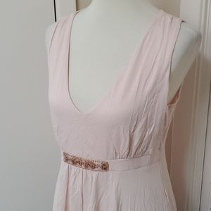 New Daisy Fuentes Pale Pink Top